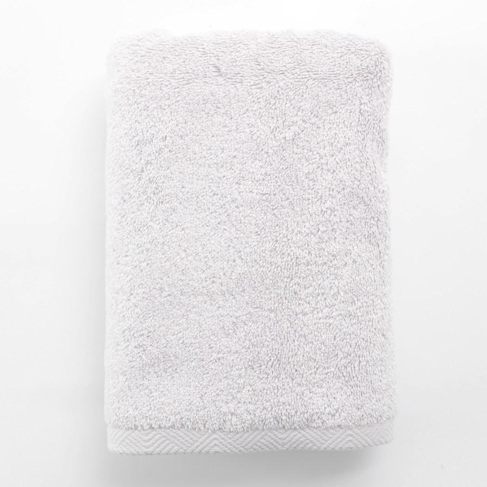 HOLA 埃及棉加大毛巾 亮銀 50x90cm 臺北市