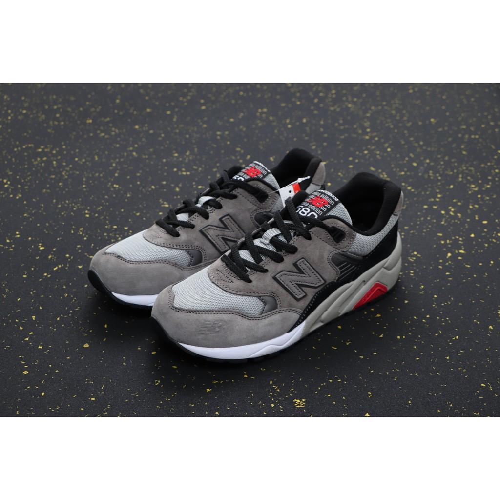 New Balance NB580 休閒運動 復古 慢跑鞋 灰紅 MRT580GK 男女鞋