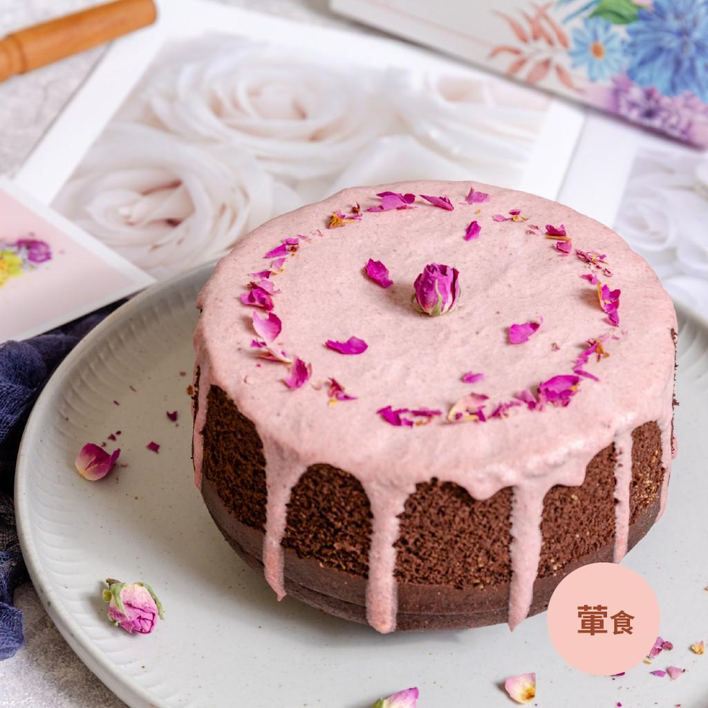 [甜野新星x母親節限定]酪馨莓瑰蛋糕6吋/9吋(無糖無麩質無澱粉生酮可食)