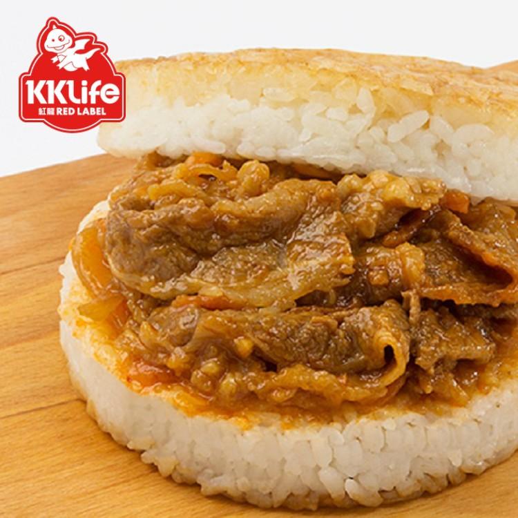 【紅龍】美味米漢堡 2組6入免運組合