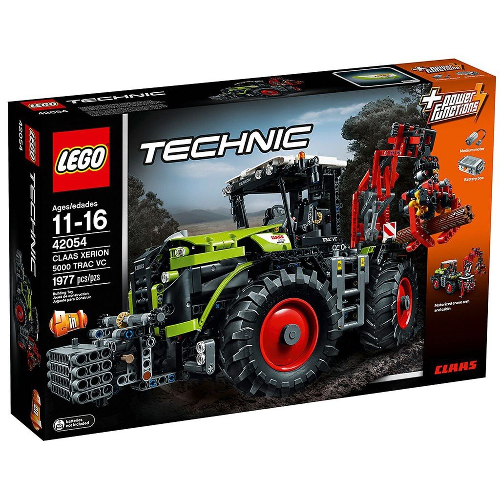 LEGO 樂高 42054 Claas Xerion 5000 TRAC VC 耕耘機