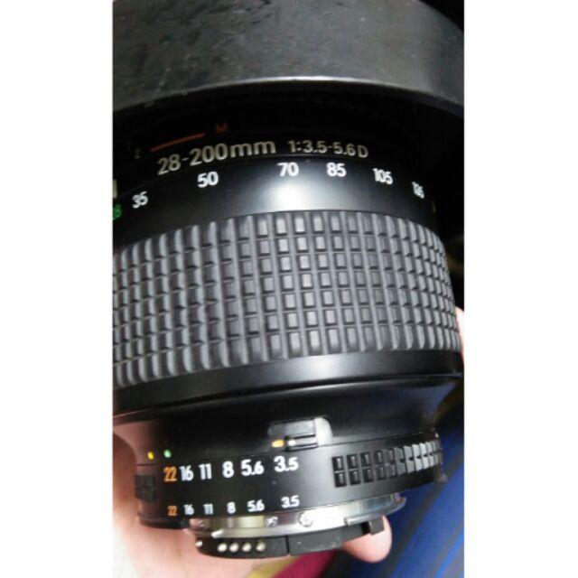 鏡頭 Nikon 28 200mm af d 28mm 旅遊鏡 單眼相機