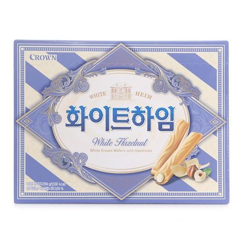 [韓國直送][可拉奧 CROWN] 奶油威化酥 284g