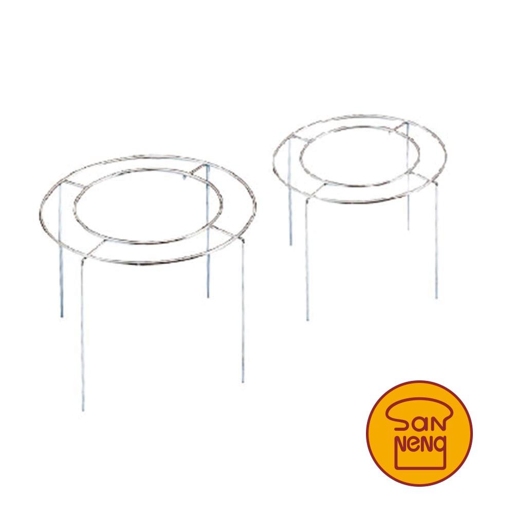 【SANNENG 三能】不銹鋼蛋糕叉 倒扣專用架 電解 SN4193 SN4194