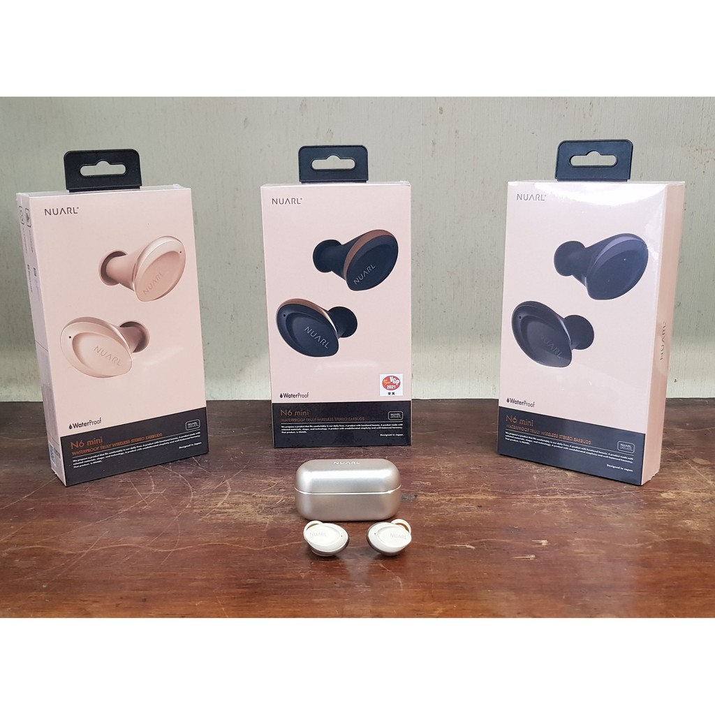 +首都音響+ 日本Nuarl N6 mini藍芽 真無線 入耳式耳機 防水 環境音 公司貨