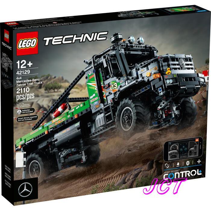 JCT LEGO樂高— 42129 科技系列 4×4 賓士Zetros卡車