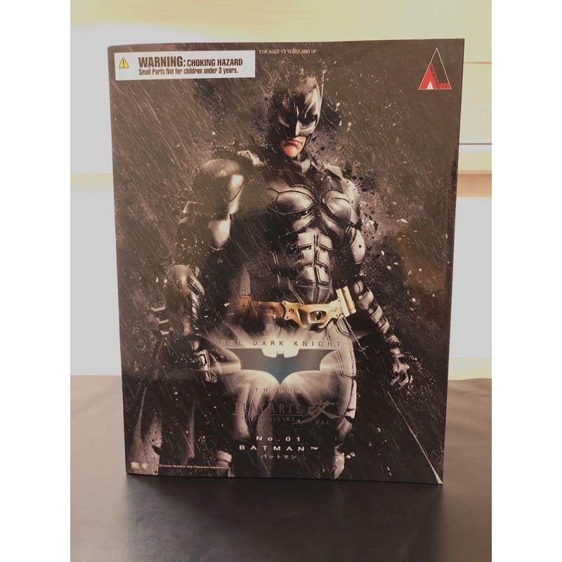 Play arts 改 DC The Dark Knight  黑暗騎士 黎明升起 Batman 蝙蝠俠 貝爾