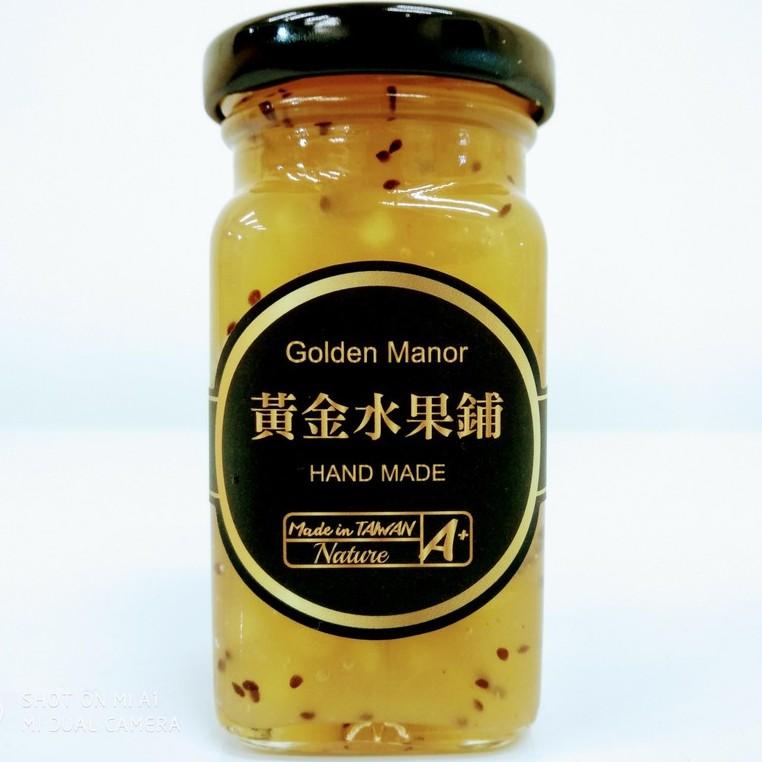【黃金水果鋪】奇異果蘋果 手作果醬(方瓶)130g