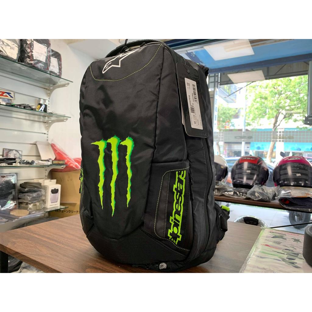 【松部品】義大利 Alpinestars MONSTER MARAUDER BACKPACK 鬼爪聯名後背包 可背安全帽