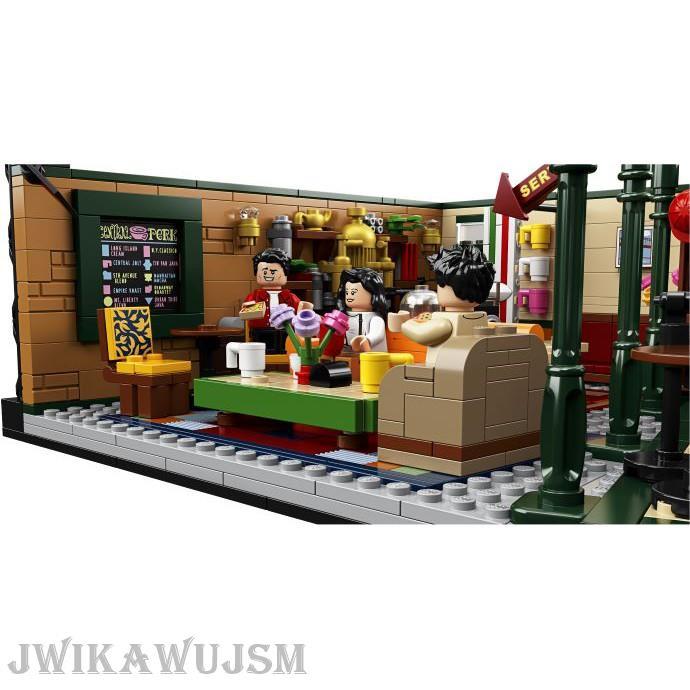樂高玩具 拼裝玩具 自由組裝 LEGO 21319 Friends Central Perk