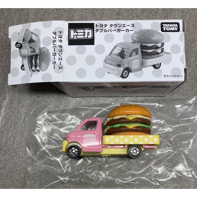 Tomica 54 92 非賣品 漢堡車 1/64 Toyota 粉紅 shop ace 卡車 皮卡 漢堡 載運車 64