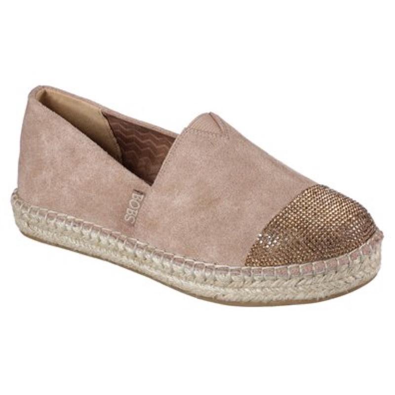 🔥零碼出清 SKECHERS BOBS鞋款 鉛筆鞋 竹編鞋 舒適大底 好看好穿 零碼出清 31438TPE粉