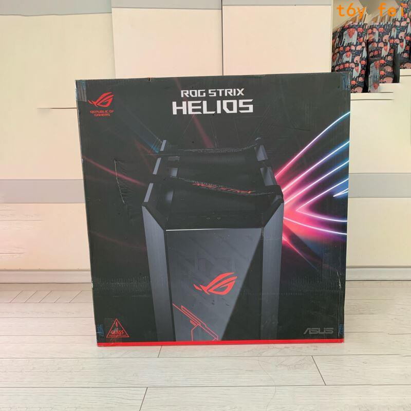 快速~華碩玩家國度ROG Strix Helios太陽神GX601高達聯名款電腦主機殼