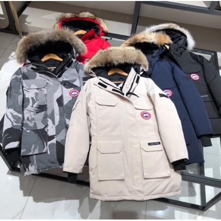 全新正品男女同款Canada goose加拿大鵝EXPEDITION PARKA遠征派克羽絨外套 毛領可拆 有6色可選