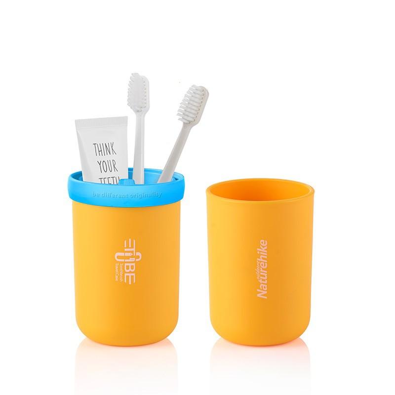 戶外旅行三合一洗漱杯創意情侶漱口杯便攜密封式套裝刷牙杯