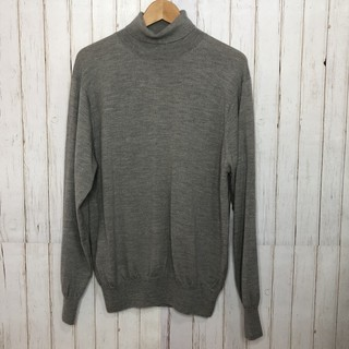🔴古著 復古 Pierre Cardin 皮爾卡登 灰色 羊毛高領衫 vintage 新北市