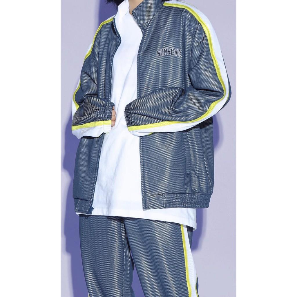 Supreme 運動外套 ss18 Jacket Navy M號 夾克 嘻哈