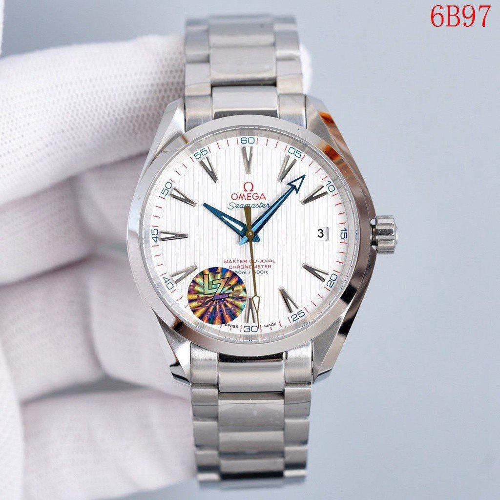 全新OMEGA歐米茄TKS廠男生手錶海馬150M系列8500自動機械機芯316精鋼錶殼