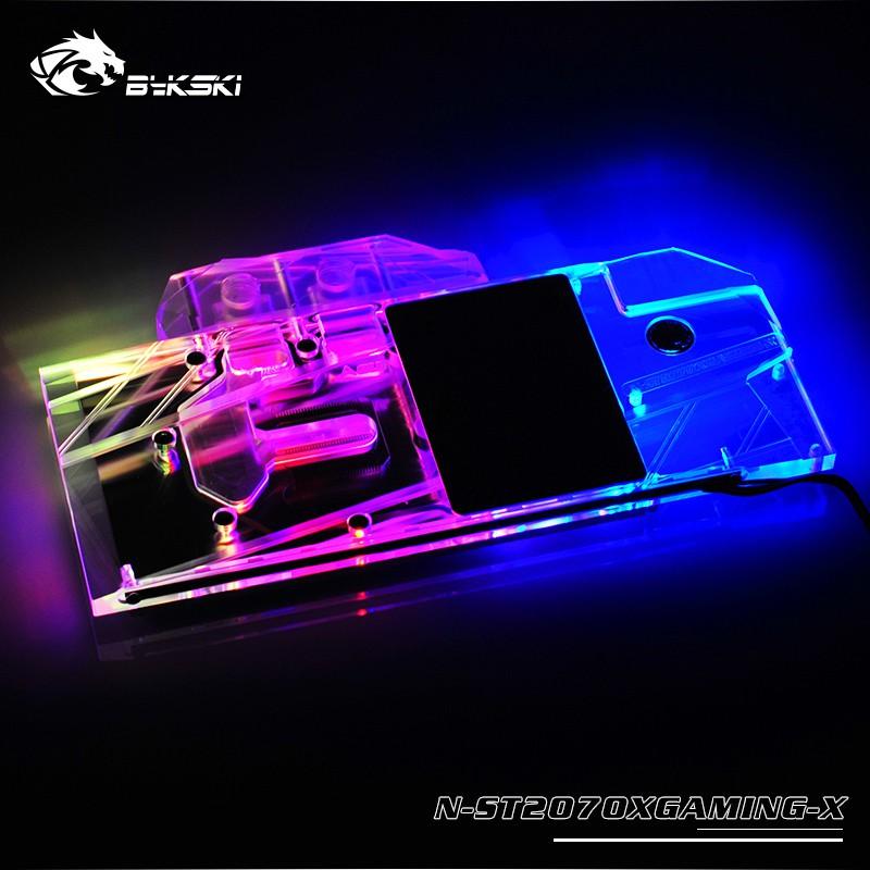 ZOTAC RTX2070 8GB X-GAMING OC /遊戲RTX2070 AMP /全蓋銅散熱器塊的Bykski