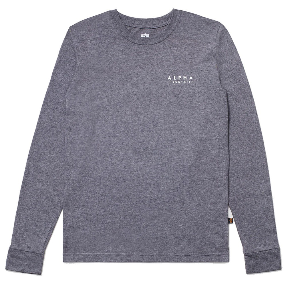 ALPHA BLOOD CHIT L/S TEE 薄長T 鐵灰【A-KAY0】【UTB49003G1CH】