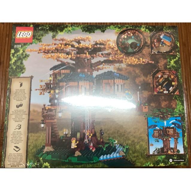 LEGO 21318 樹屋 盒況普通 可刷卡