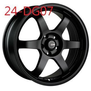 類RAYS DG07 18吋5*108平光黑鋁圈~FOCUS V40 V60 KUGA(起標價非商品實際售價 請洽詢)