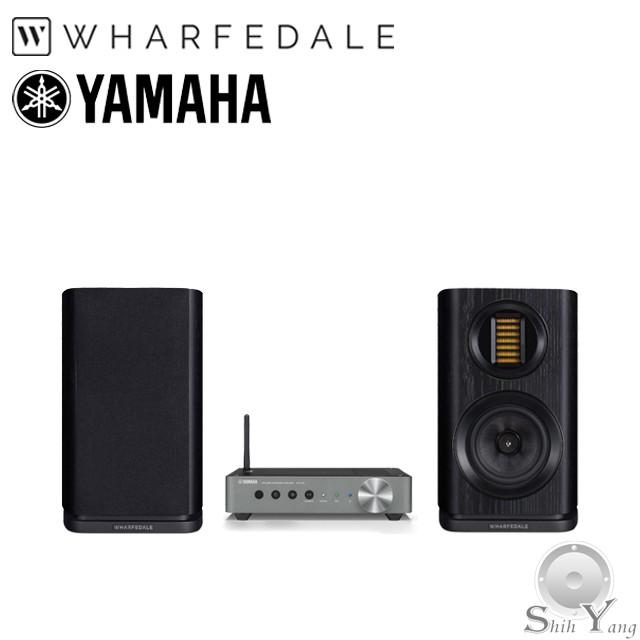 YAMAHA 山葉 WXA-50 無線串流擴大機 + Wharfedale 英國 EVO 4.1 書架型喇叭 公司貨