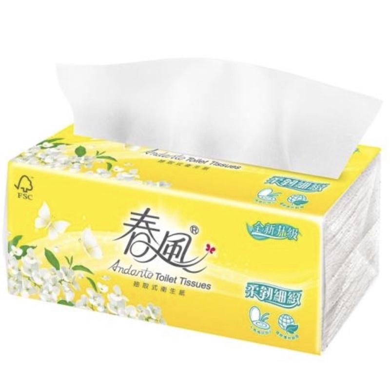 春風衛生紙110抽72包
