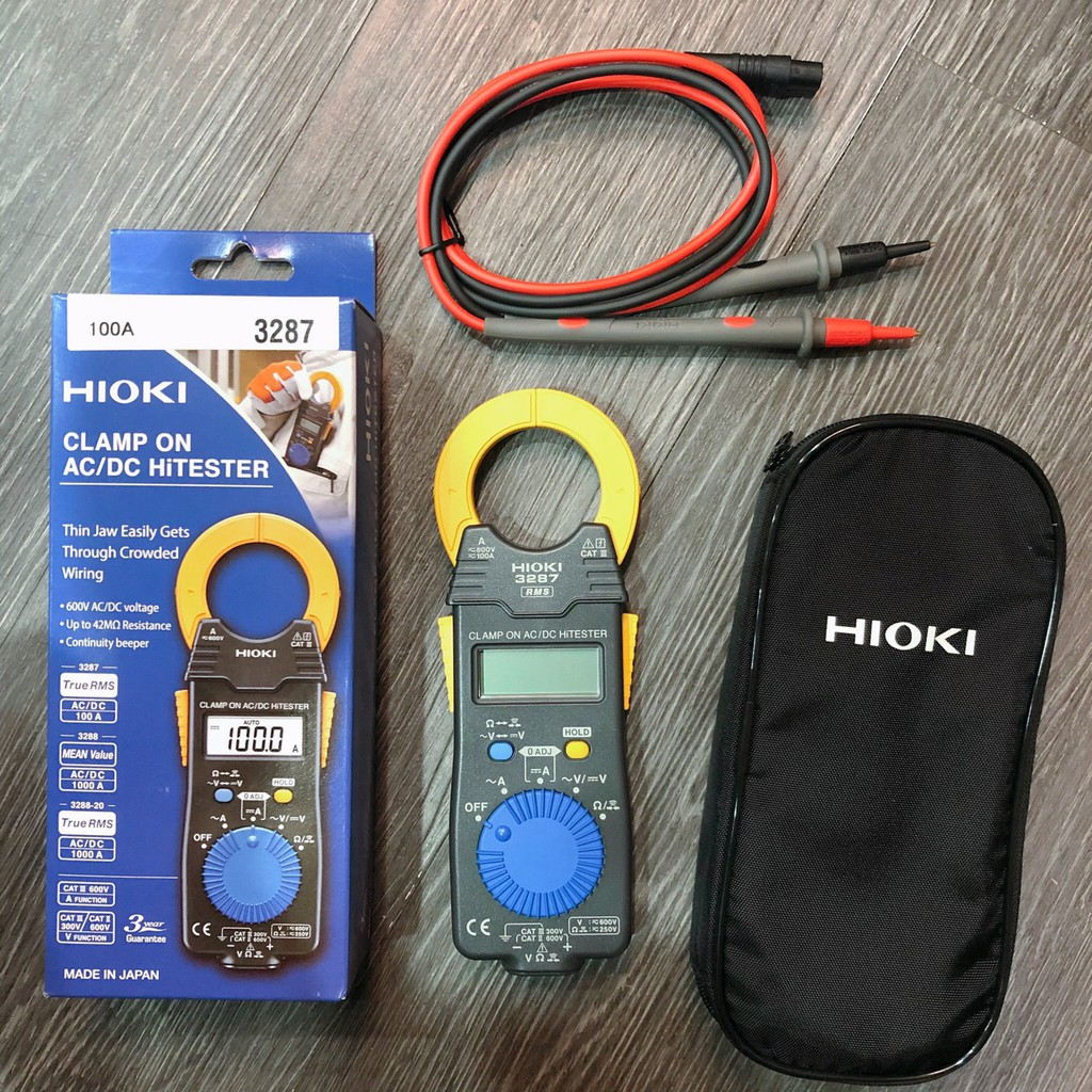 【全電行】高雄HIOKI專賣│HIOKI 3287 交直流微電流勾錶 保固三年 原廠公司貨