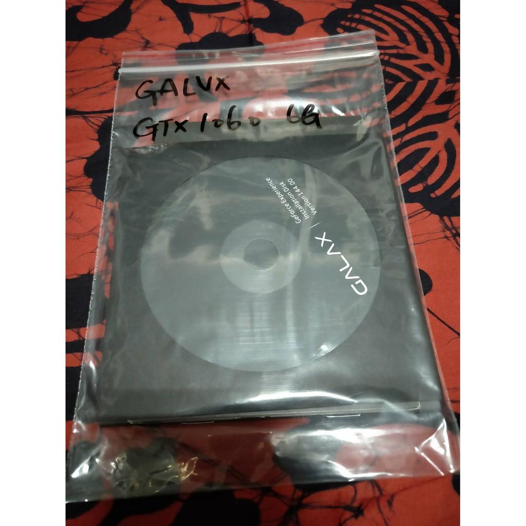 GALAX顯示卡驅動程式光碟/GTX1060 6G可用