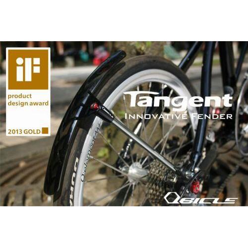【鐵馬假期】QBICLE Tangent 鋁合金 人波切 擋泥板 土除 公路車 700c