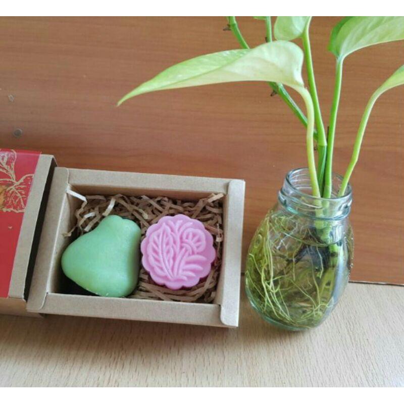 【2樓小舖】中秋月餅手工皂 創意禮品 含盒裝 柚子 月餅 鳳梨酥