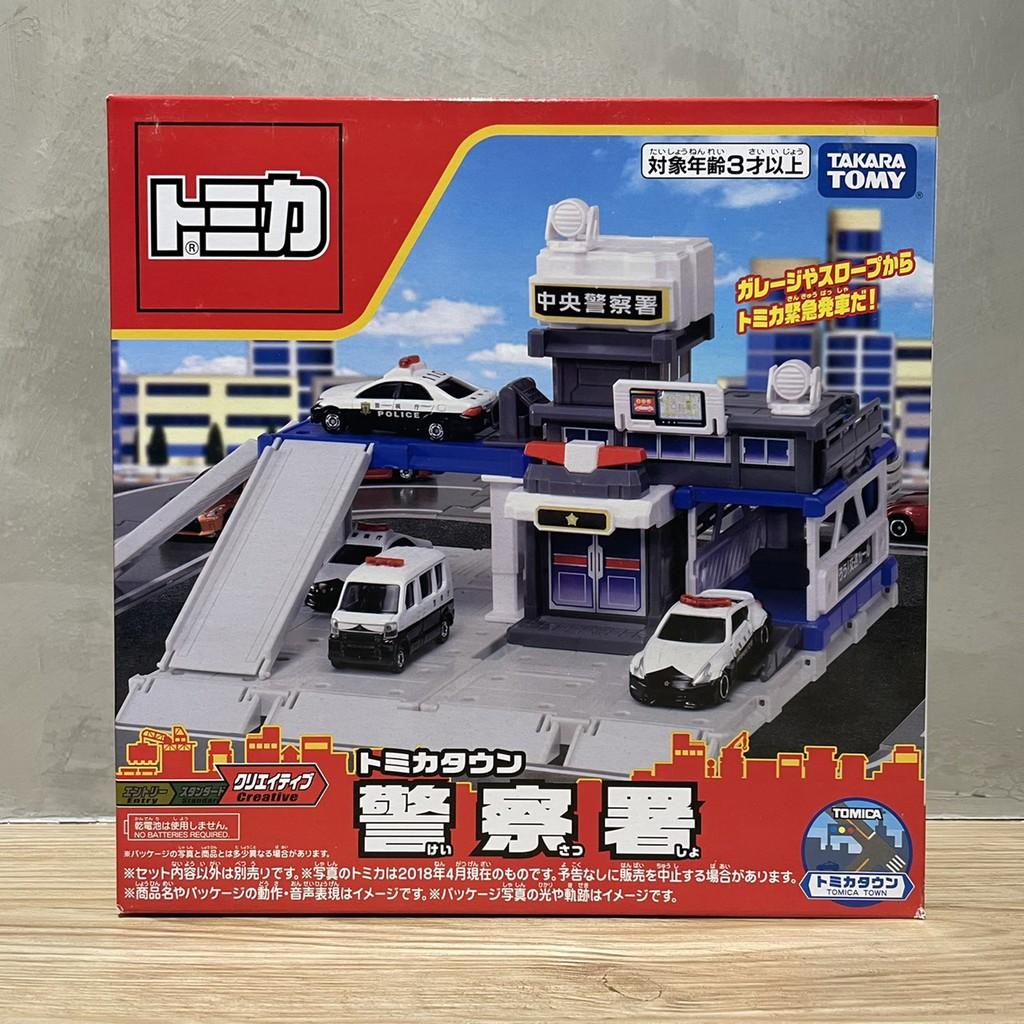 (bear)全新現貨 日本帶回 Tomica 多美 tomy 場景組 警察 警察局 警察署 警車 場景