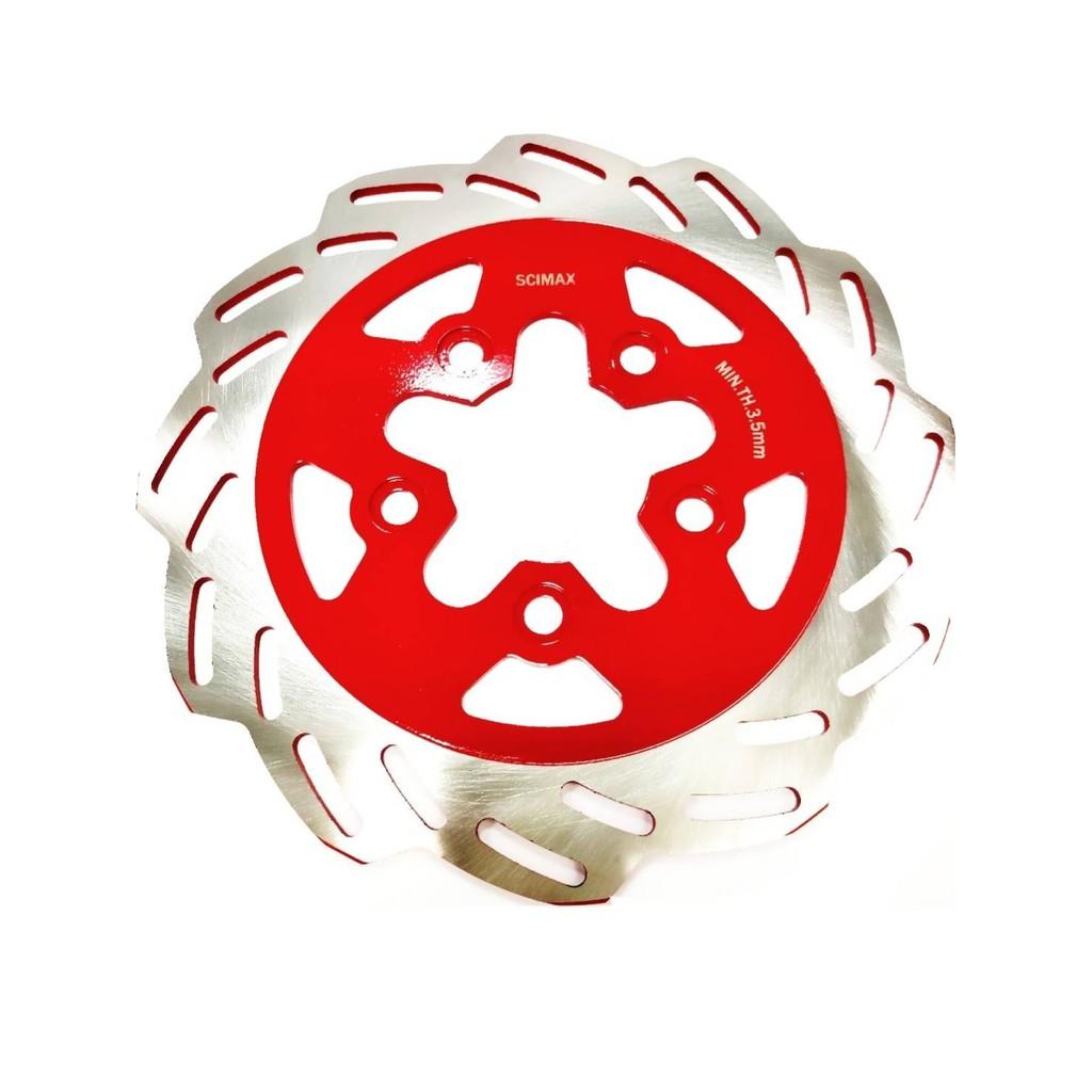 SCIMAX (戰將6代/FIGHTER6代)紅浪花 前碟盤 煞車碟盤