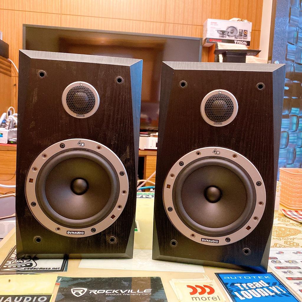 DYNAUDIO ESOTAN 236 40周年紀念版兩音路書架型喇叭 可議價