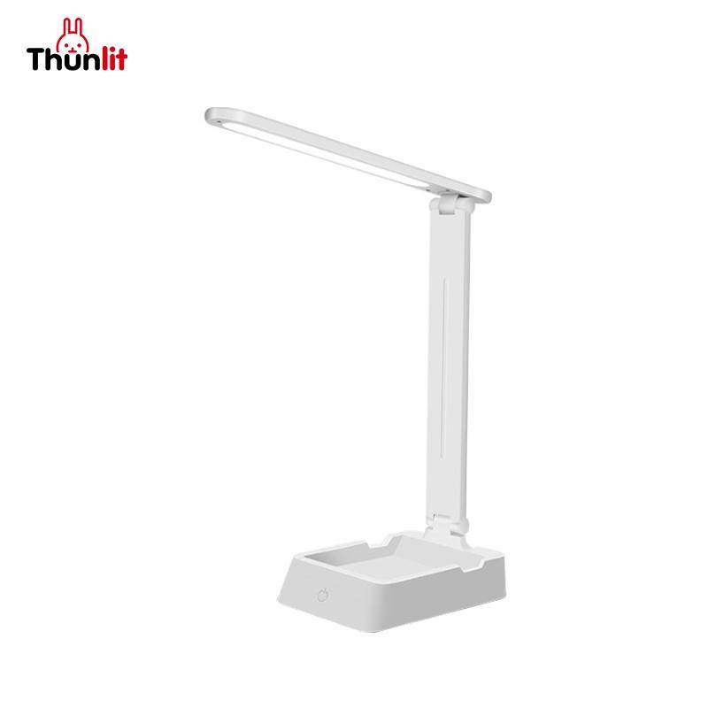 Thunlit储物書桌檯燈 較少的藍光3種亮度小物體存儲