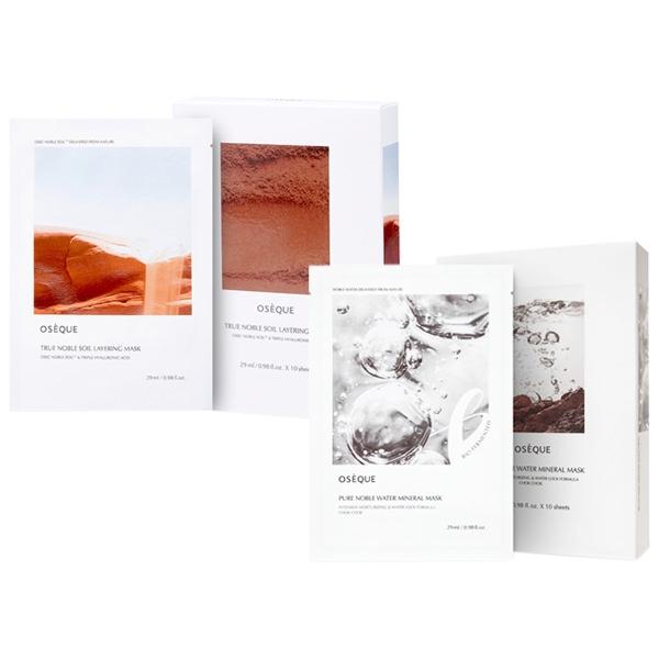 韓國 OSEQUE 黃土/地漿水 面膜(29mlx10片)盒裝【小三美日】D408020