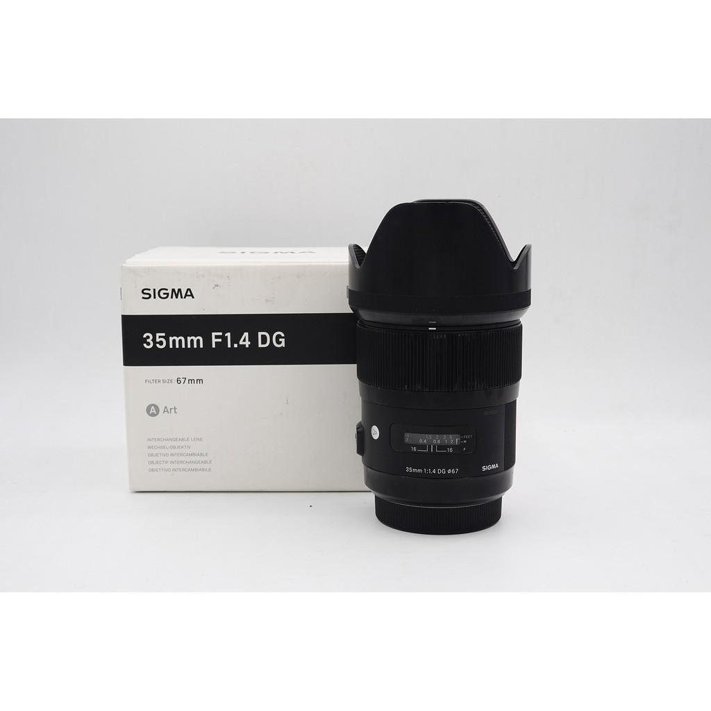 【明昌】【中古二手】SIGMA 35mm F1.4 Art For Sony A接環 可加 LA-EA3轉接環 (新品)