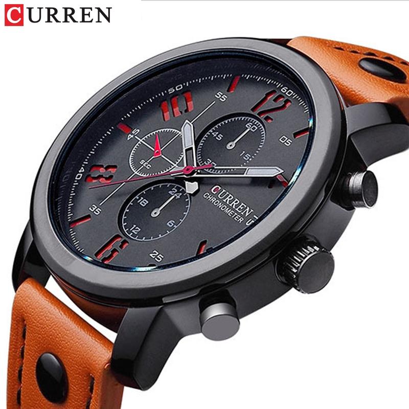 男士手錶高品質運動手錶時尚腕錶 2018 石英男商務手錶男士防水手錶