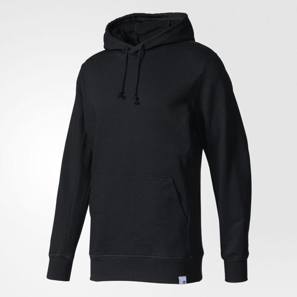 Adidas Originals XBYO 男裝 上衣 長袖 連帽 帽T 棉質 黑色 【運動世界】BQ3087
