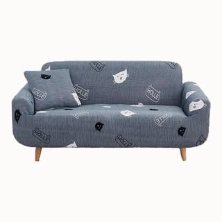 (現貨)【贈送抱枕套和壓條】沙發套 單人沙發套 小貓彈力沙發套 雙人 三人 組合 沙發罩 【贈送抱枕套和壓條】