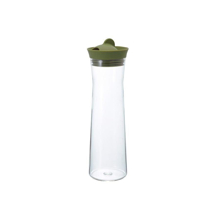 【HARIO】 福利品 Gmark墨綠冷水壺1000  WJ-10-OG 耐熱 日本製 【HARIO官方商城】