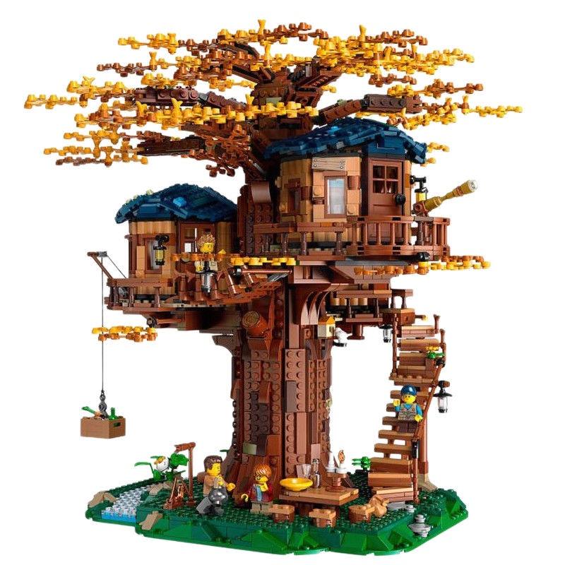 LEGO【正品保障】樂高(LEGO)積木Ideas系列拼裝禮物玩具21318樹屋