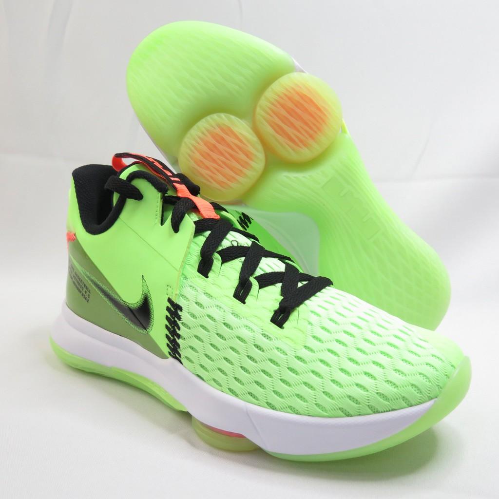 NIKE LEBRON WITNESS V EP 男款 運動鞋 籃球鞋 CQ9381300 螢光綠【iSpor愛運動】
