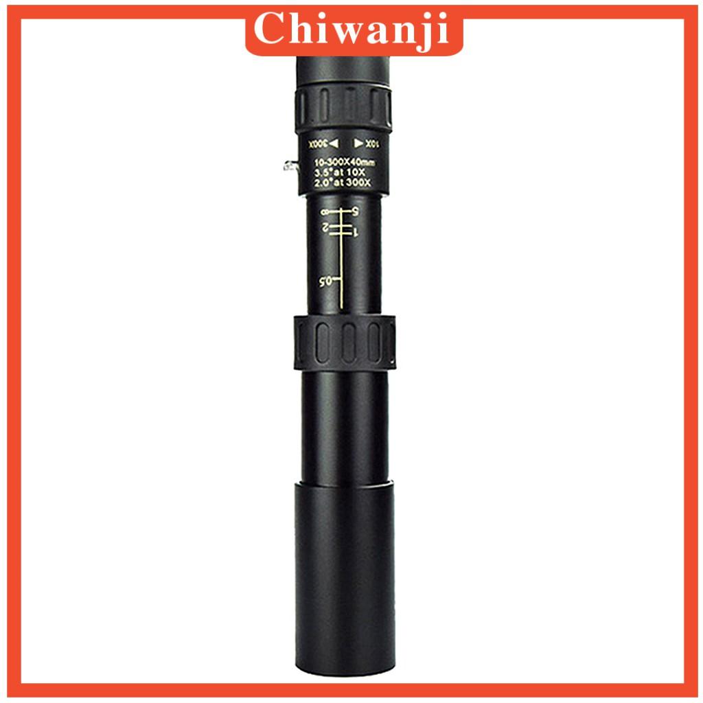 [CHIWANJI] 4K 10-300X40mm Zoom單筒望遠鏡BAK4稜鏡觀鳥徒步旅行