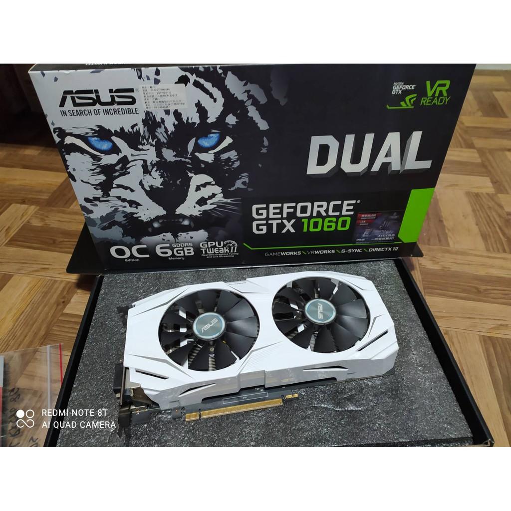 華碩ASUS電競版雪原豹 DUAL-GTX1060-O6G顯示卡