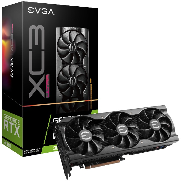 EVGA GeForce RTX 3080 XC3 ULTRA GAMING, 10G-P5-388 未鎖