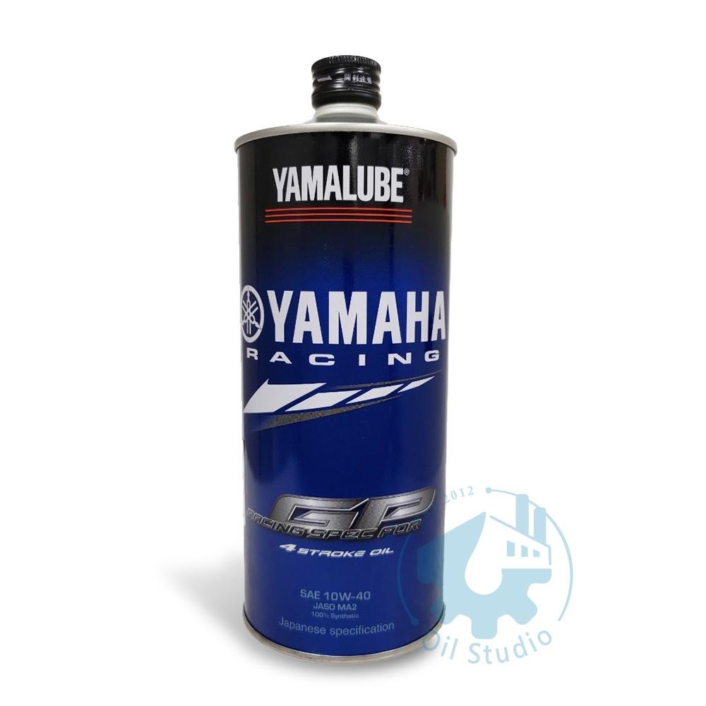《油工坊》YAMAHA 山葉 原廠 YAMALUBE RS4GP 10W40 日本原裝 引擎機油 MA2 4RS