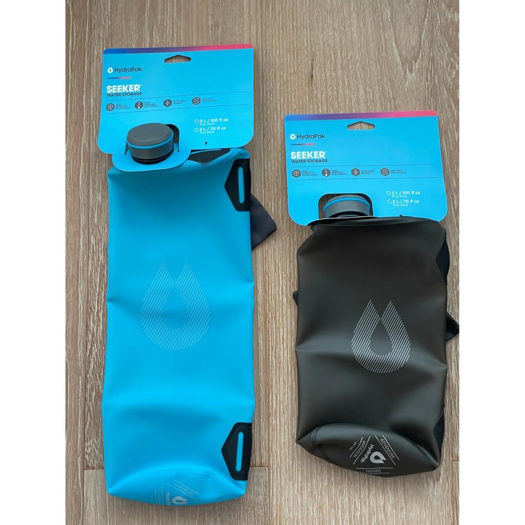 Hydrapak Seeker 2L / 3L /4L 輕量濾水袋 可與KATADYN Befree濾芯組合使用