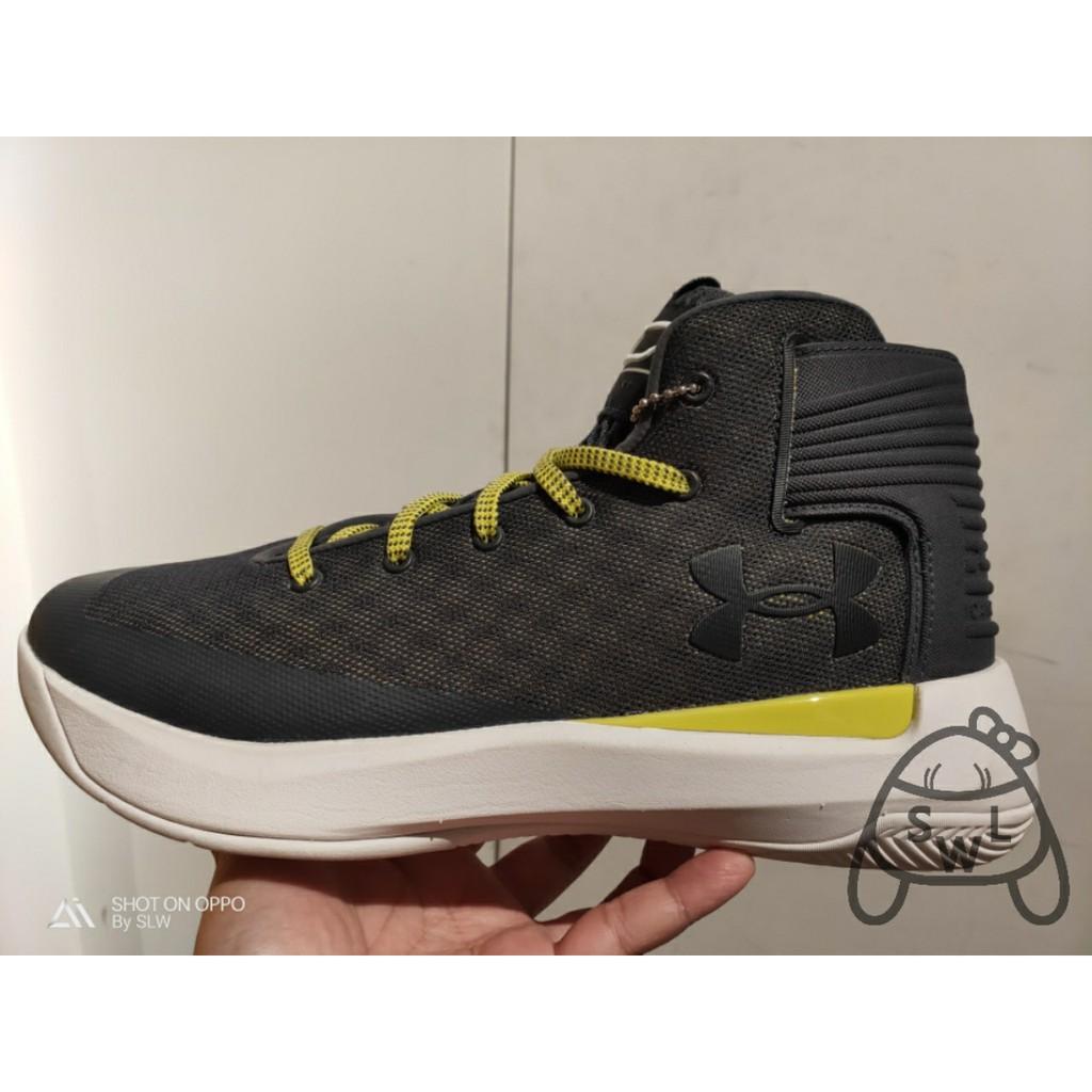『 SLW 』 6折出清 UA Curry 3ZERO 男 灰 實戰籃球鞋 1298308-008